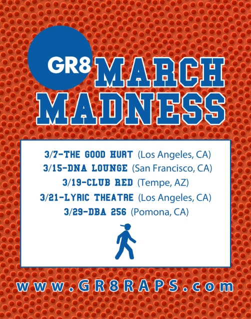 Marvel The Gr8 March Madness 2013