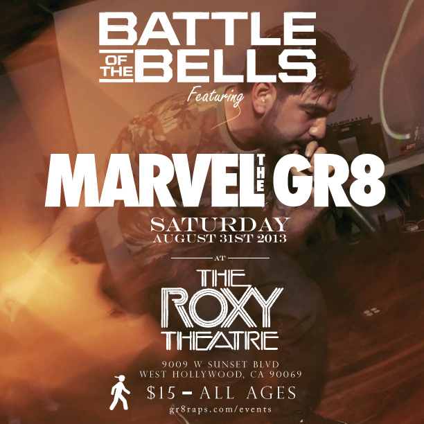 Marvel The GR8 Rock The Bells Insta
